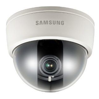 Samsung SCD 2080 High Resolution Dome Camera with 2.8 10mm Varifocal AI Lens (White)  Camera & Photo