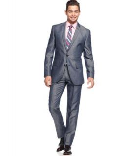 Bar III Carnaby Collection Black and White Plaid Dress Pants Slim Fit   Suits & Suit Separates   Men