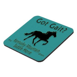 Got Gait? My Kentucky Mountain Saddle Horse Does Coasters