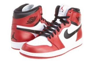 Nike Trainers Shoes Mens Air Jordan 1 Retro High Red Shoes