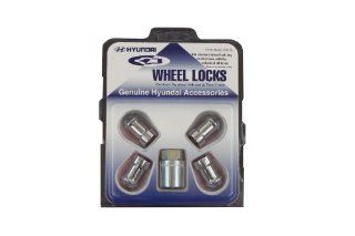 Genuine Hyundai Accessories U8440 00200 Chrome Wheel Lock Automotive