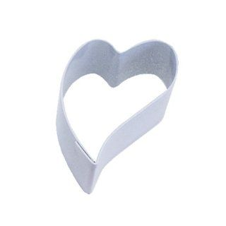 Dress My Cupcake DMC41CC156SET Folk Heart Cookie Cutter, Mini, White, Set of 12 Kitchen & Dining
