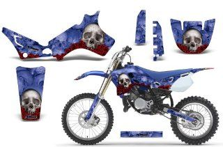 Bone Collector AMRRACING MX Graphics decal kit fits Yamaha YZ 80 (1993 2001) Blue Automotive