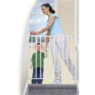 Summer Infant Sure & Secure Extra Tall Top of Stair Gate With Alarm Health & Safety