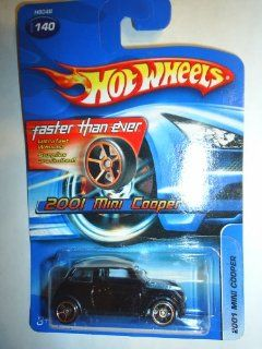 #2005 140 2001 Mini Cooper Faster Than Ever Wheels Collectible Collector Car Mattel Hot Wheels 164 Scale Toys & Games
