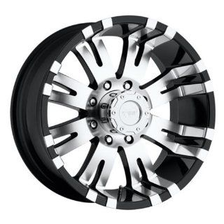 Pro Comp Alloy 8101 7985 Xtreme Alloys Series 8101 Gloss Black Finish; Size 17x9; Bolt Pattern 5x5.5 in.; Back Space 4.75 in.; Automotive