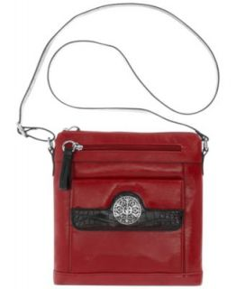 Giani Bernini Handbag, Collection Leather North South Crossbody   Handbags & Accessories