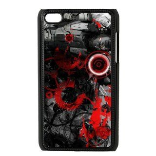 Custom Red Iron Man Cover Case for iPod Touch 4th Generation PD136 Cell Phones & Accessories