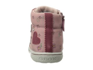 Geox Kids Baby Flick Girl 17 Toddler Antique Rose Dark Pink