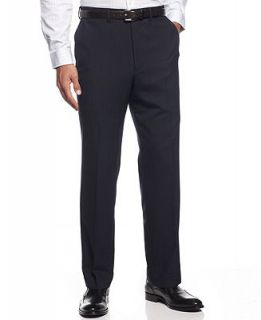 Louis Raphael Dress Pants 100% Wool Endless Comfort Plaid Flat Front   Pants   Men