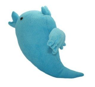 "Twitter Logo Blue Bird Stuffed Animal Plush Doll Toy 9"" Limited Edition Toys & Games"