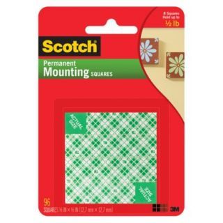 Scotch Permanent Mounting Squares 56 ct.