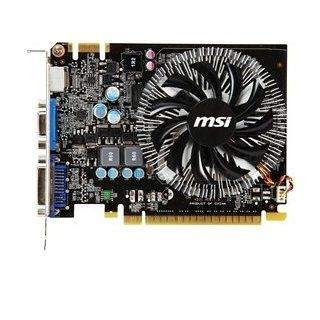 Msi Video Card N450Gts Md1Gd3 1Gb Gddr3 128Bit Pci Express Dvi/Vga/Hdmi Retail Computers & Accessories