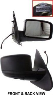 Kool Vue FD126ER Mirror Corner mount Type Passenger Side RH Plastic Primered Power Manual folding Heated Automotive