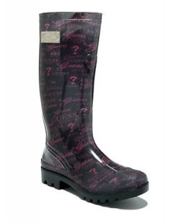 GUESS Womens Innocent Rain Boots   Shoes
