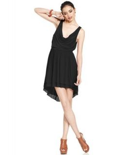 Free People Dress, Sleeveless Scoop Neck Draped A Line   Dresses   Women