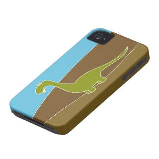 Cute Cartoon Dinosaur Case Mate iPhone 4 Cases