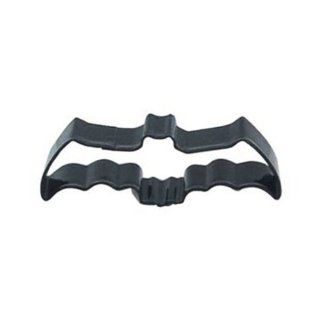 Dress My Cupcake DMC41CC119SET Flying Bat Cookie Cutter, 4.5 Inch, Black, Set of 12 Kitchen & Dining