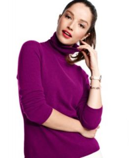 Charter Club Sweater, Long Sleeve Ribbed Open Front Cashmere Cardigan   Sweaters   Women