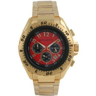 Ballistic BWE113 Mens Chronograph Red Gold Watch at  Men's Watch store.