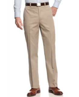 Lauren by Ralph Lauren Tan Solid Cotton Suit Separates   Suits & Suit Separates   Men