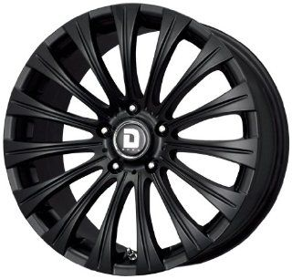 "Drag DR 43 Wheel with Flat Black Finish (17x8""/5x108mm) Automotive"