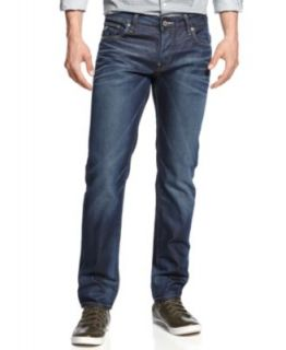 G Star Jeans, Straight Leg Faded   Jeans   Men