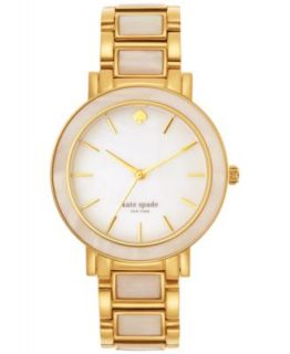 kate spade new york Watch, Womens Gramercy Gold Tone Stainless Steel Bracelet 34mm 1YRU0007   Watches   Jewelry & Watches