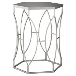 Threshold™ Metal Accent Table   Silver