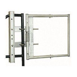 Adjustable Safety Gate, 16 to 26 In, SS   Gate Hardware