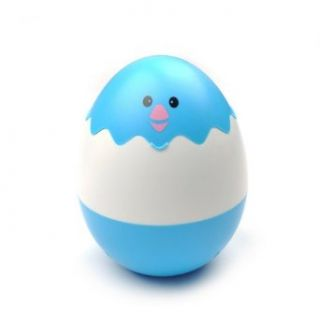 Blue Cute Egg Shape Super Bright Rechargeable LED USB Desk Lamp lighting