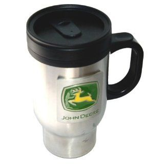 Licensed John Deere Stainless Thermo Steel Coffee Mug   Travel Mugs