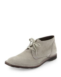 Hipster Suede Chukka Boot, Stone
