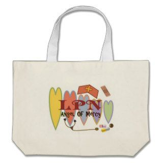 "LPN ""Angel of Mercy"" Gift Products Canvas Bags"
