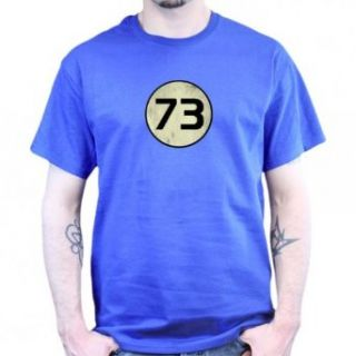 The Big Bang Theory Sheldon Number 73 T shirt Movie And Tv Fan T Shirts Clothing