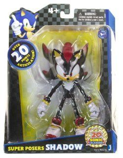 "Shadow Super Posers Sonic The Hedgehog ~7"" Action Figure Series Toys & Games"