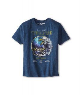 Billabong Kids On Tour S/S Tee Boys T Shirt (Blue)