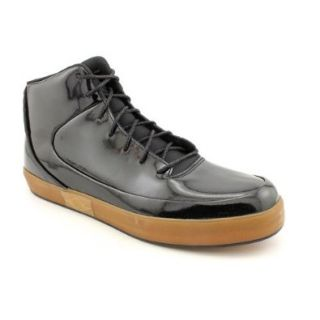 NIike Jordan Grown V.9 Black Patent Gum Brown Mens Casual Shoes 453930 002 Shoes