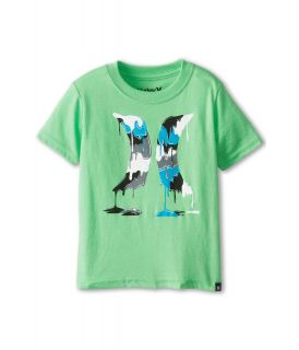 Hurley Kids Drippy Tee Boys T Shirt (Green)