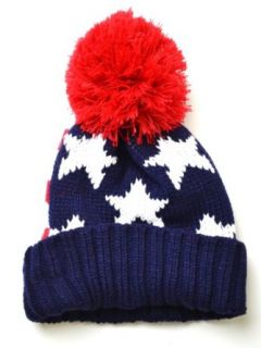 Americana USA American Flag Red White & Blue Knitted Hat Beanie at  Men�s Clothing store