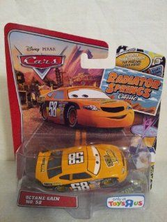 "Disney Cars Radiator Springs Classic ""Octane Gain"" No. 58 Exclusive 1/55 Scale Die Cast Vehicle Toys & Games"