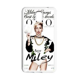 Mystic Zone Miley Cyrus Cover Case for Samsung Galaxy Note 3 III N900 (White)   MZSN300157 Cell Phones & Accessories