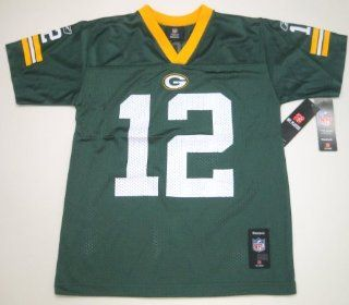 Aaron Rodgers Green Bay Packer Reebok Jerseys Size L 14 16 Team Apparel  Sports Fan Jerseys  Sports & Outdoors