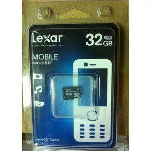 LEXAR TF32G, microSDHC Class10 flash memory card,Mobile phone / recorder card,SD CARD 32G Computers & Accessories