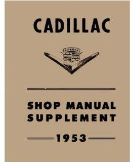 1953 Cadillac 60 62 75 Fleetwood Shop Service Repair Manual Engine Electrical Automotive