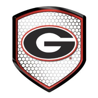 Georgia Bulldogs NCAA Reflector Decal Auto Shield for Car Truck Mailbox Locker Sticker College Licensed Team Logo  Sports Fan Mailboxes  Sports & Outdoors