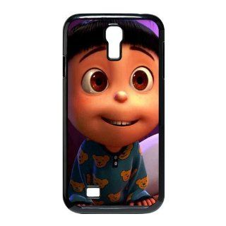 Custom Despicable Me Cover Case for Samsung Galaxy S4 I9500 S4 1085 Cell Phones & Accessories