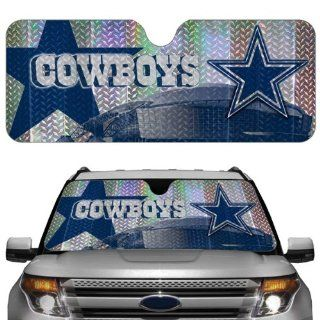 Dallas Cowboys Car Truck SUV Front Windshield Sunshade   Accordion Style Automotive