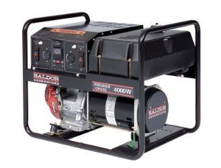 4,000 Watt Premier Industrial Portable Generator With Honda Engine Patio, Lawn & Garden