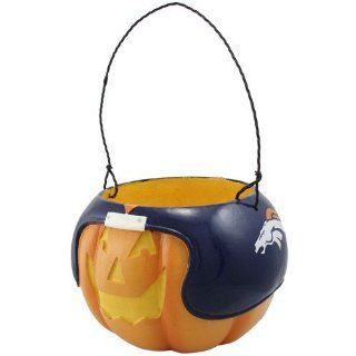 NFL Denver Broncos Halloween Pumpkin Bucket  Sports Fan Wallets  Sports & Outdoors